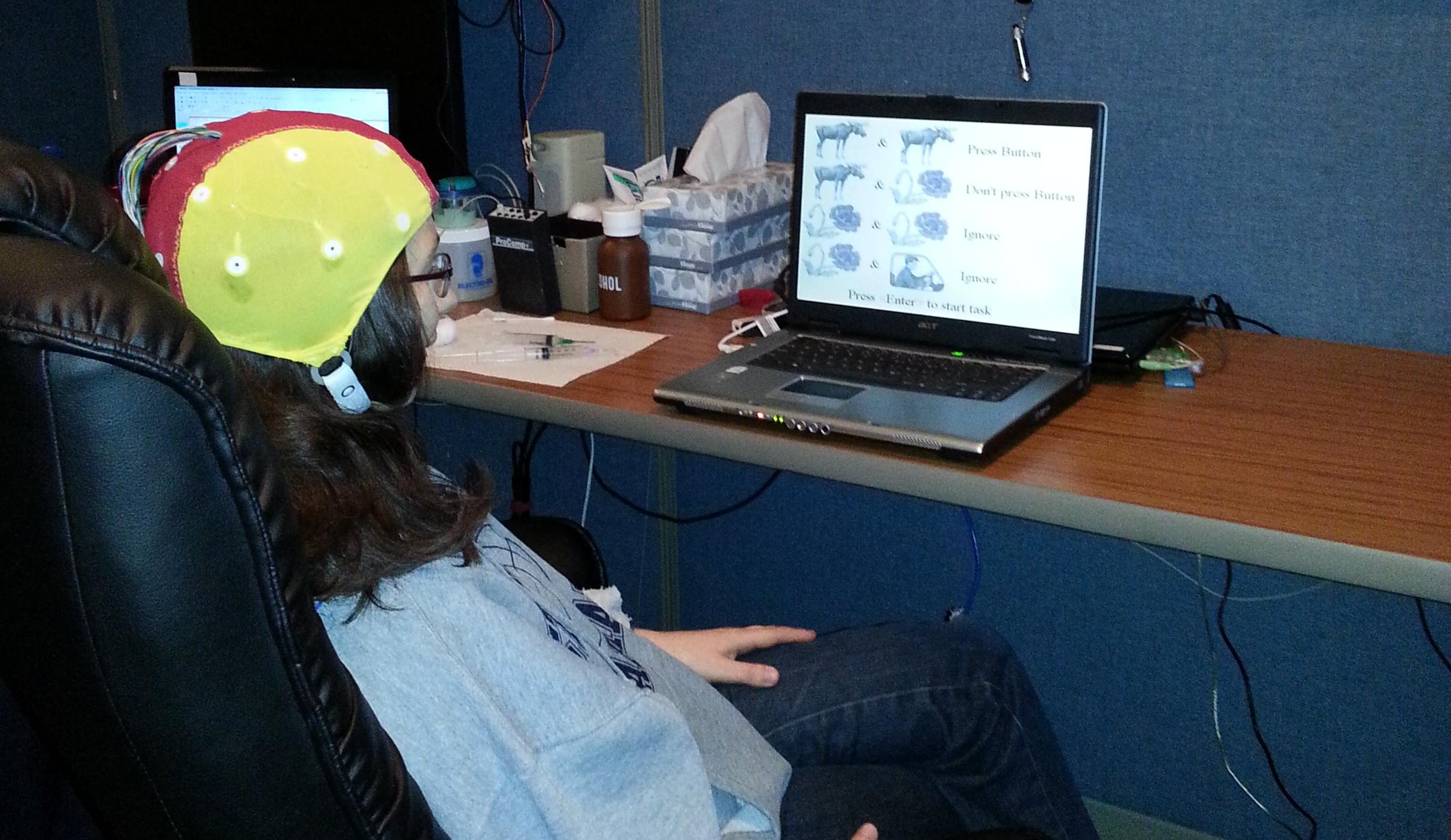 Neuromodulation patient at Sadar Psychological and Sports Center