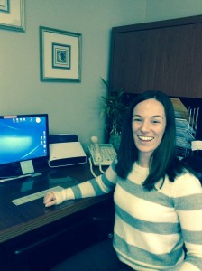 Our Administrative Assistant, Kristin