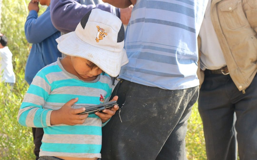 Is your child addicted to electronic media?