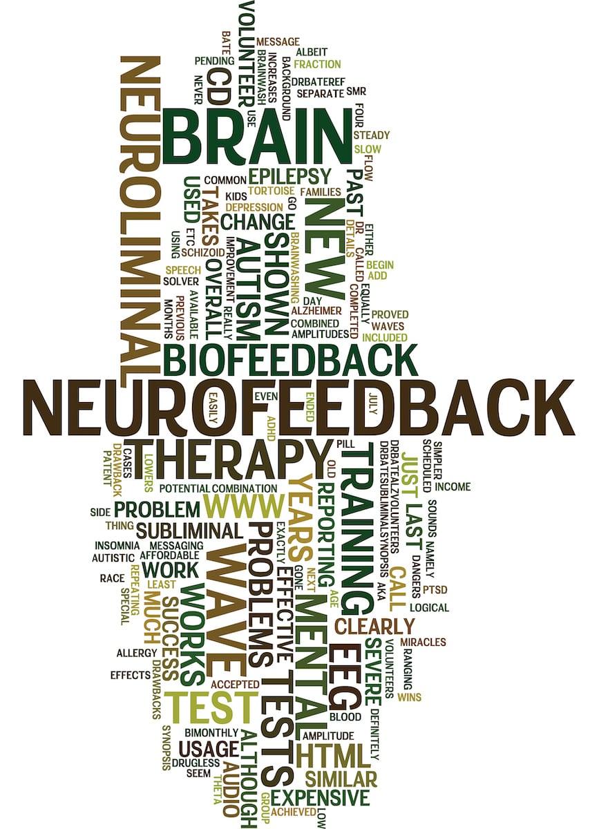 Neuromodulation word cloud at Sadar Psychological and Sports Center