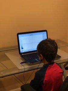 Emwave practice by child at home